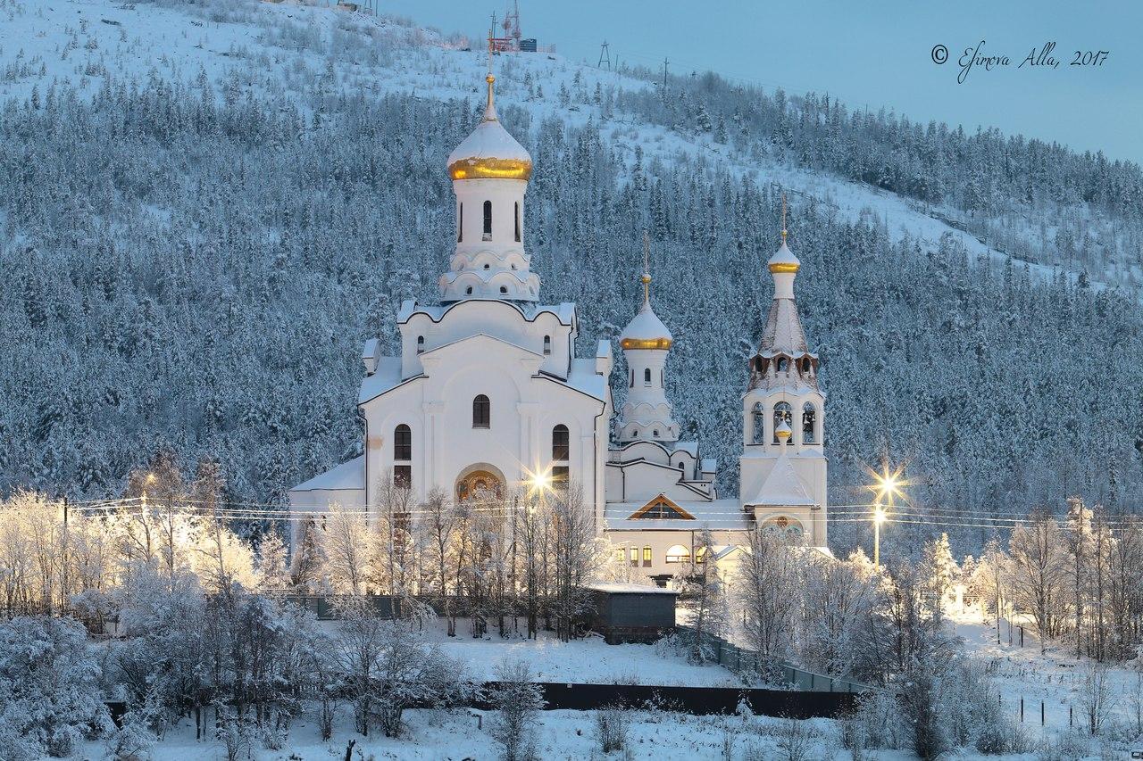 Мончегорск, города России, Россия, жизнь за полярным кругом, северное сияние, полярный день, полярная ночь, заполярье, природа Мончегорска, интересное в России