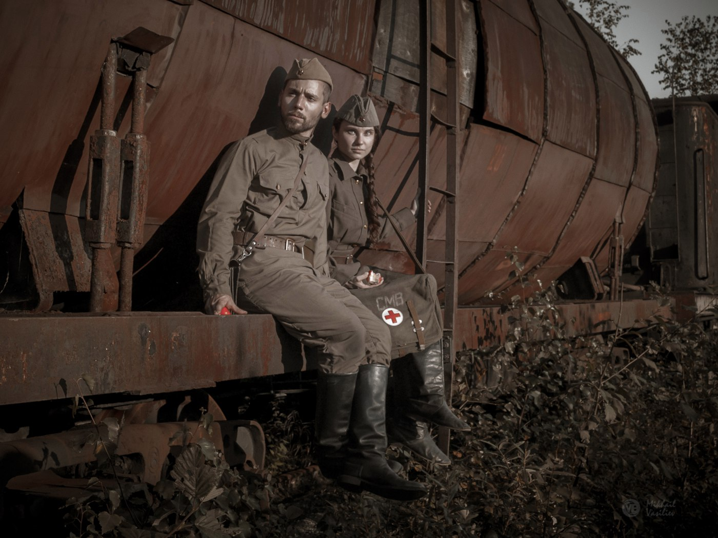 Кладбище паровозов, Шумково, Пермский край