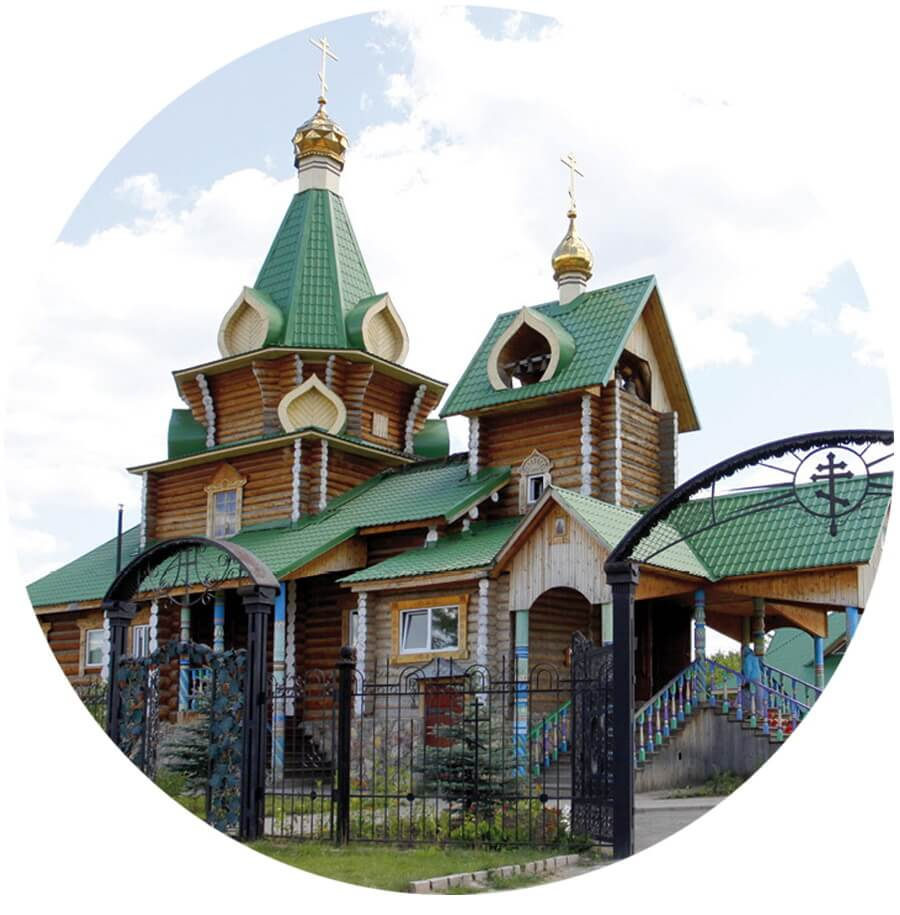 Церковь памяти Святого страстотерпца Цесаревича Алексия, Кашино, Царским маршрутом