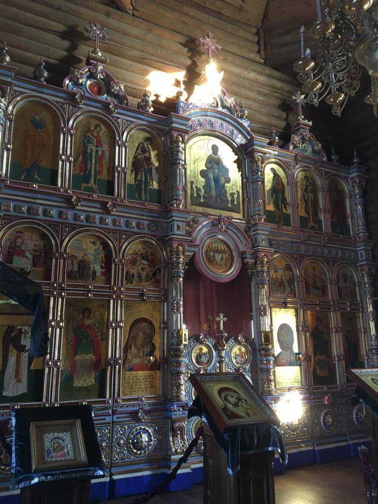 Касперовская церковь в Кольцово