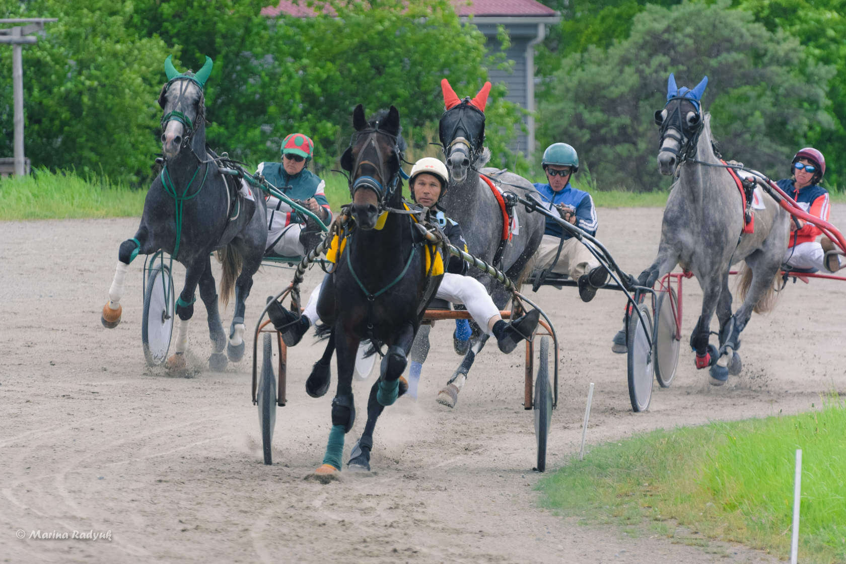 Межобластные соревнования конников на Кубок Губернатора Курганской области