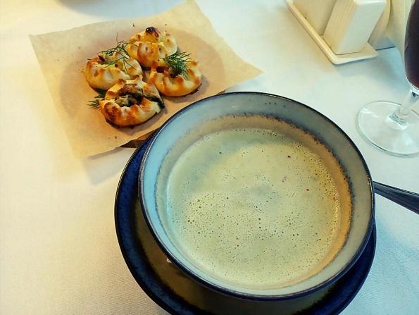 Крем-суп из пистиков
