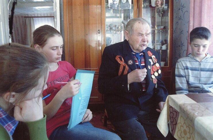 Пётр Михайлович Куликов. Встреча с ветераном в 2019 г.