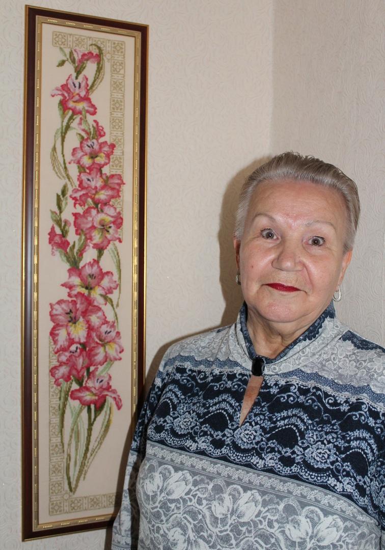 Удивительные люди Медногорска: Татьяна Зайцева - вышивает сердцем.