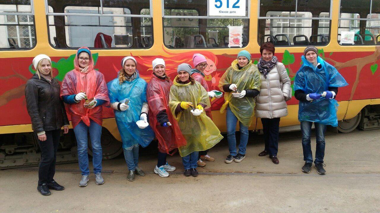 В Екатеринбурге появился «Литературный трамвай»!