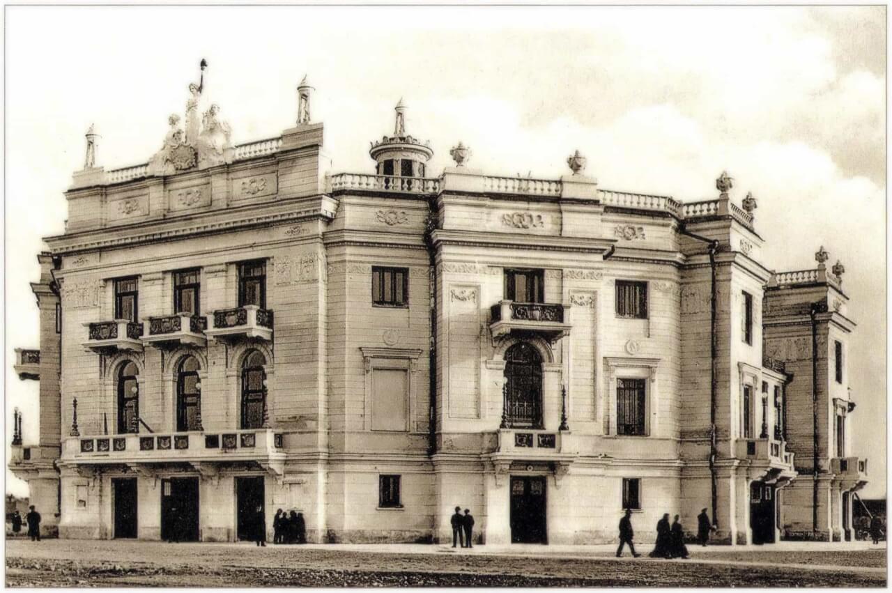 Новый городской театр в Екатеринбурге