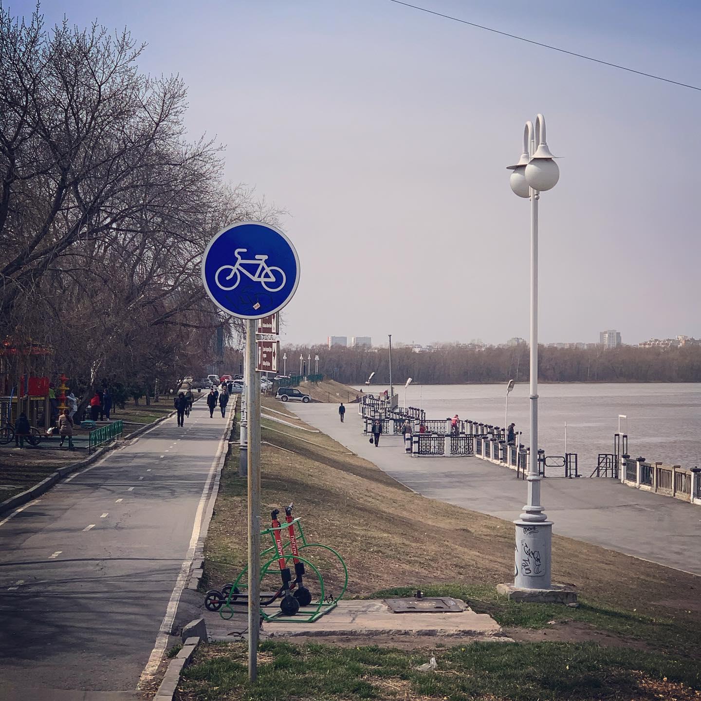 Омск_набережная