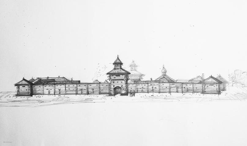 В парке «Гардарика» возводят Уйскую крепость