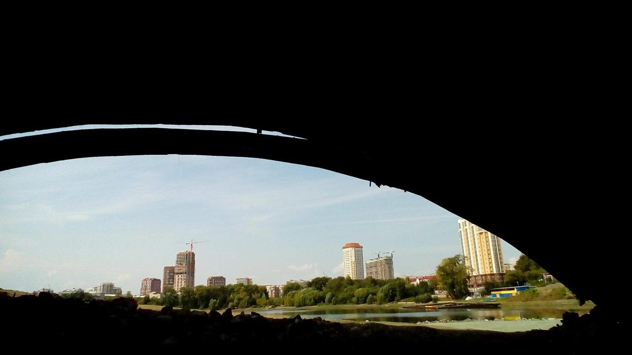 «Городские велопрогулки»: вокруг городского пруда