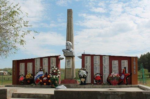 Памятник воинам-землякам, с. Гамалеевка)