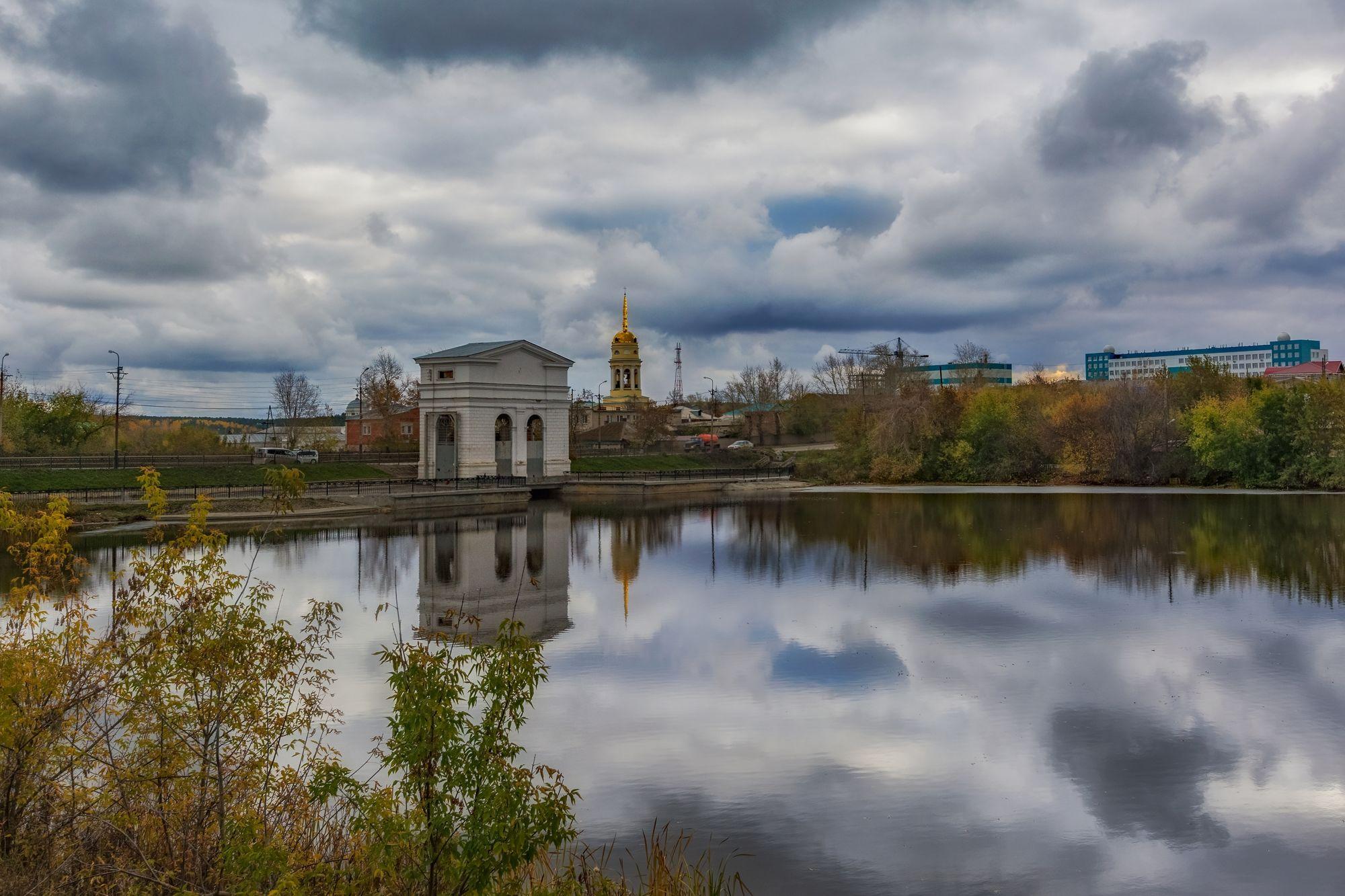 Плотина на реке Каменка, Каменск-Уральский, Свердловская область