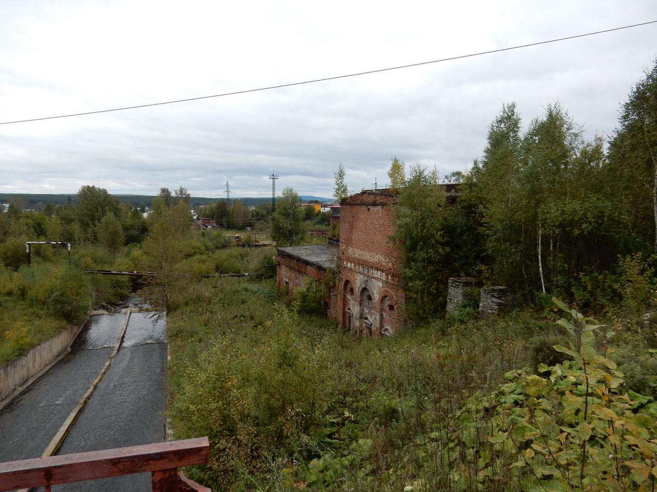 Плотина и завод, Билимбай, Свердловская область