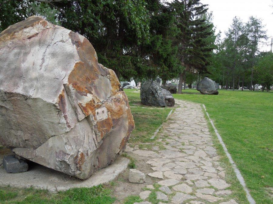 Исторический сквер, Плотинка, Екатеринбурга