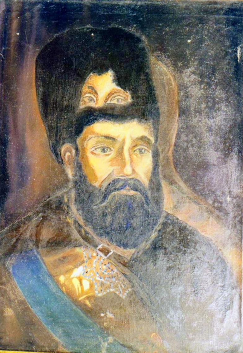 Копия портрета Пугачева в Красноуфимске