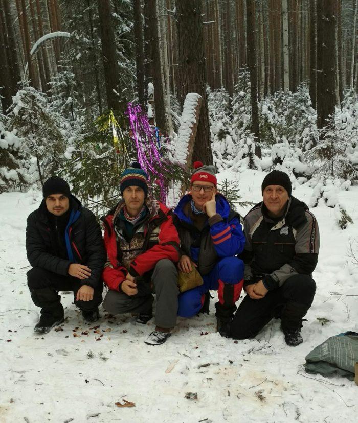 Новогодняя лыжная прогулка