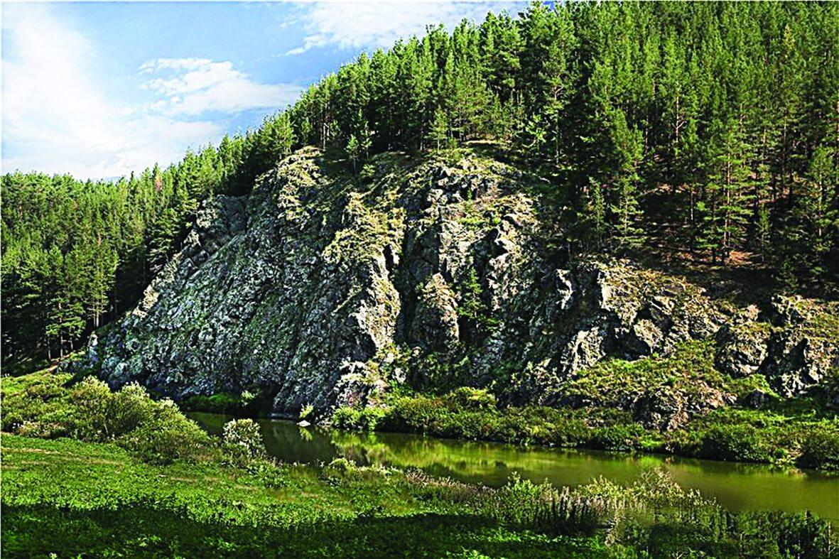 Скальный массив «Дивья гора», Рудянское