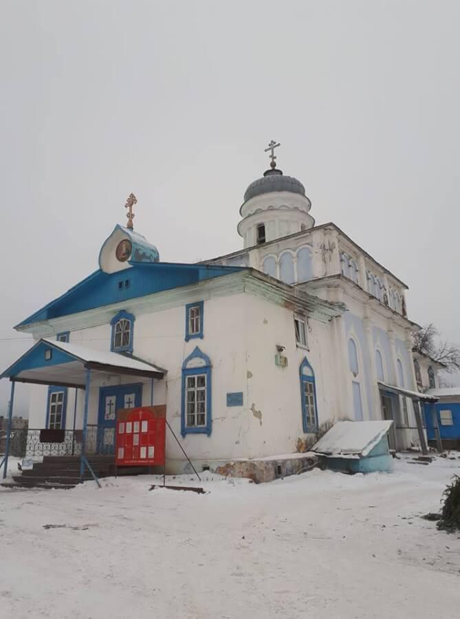 Храм св. Иоанна Богослова в Лысьве