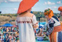 Пермский край, Кудымкар, малые города, фестиваль Ай да рыжик, фестивали Урала, коми-пермяки, праздник грибов