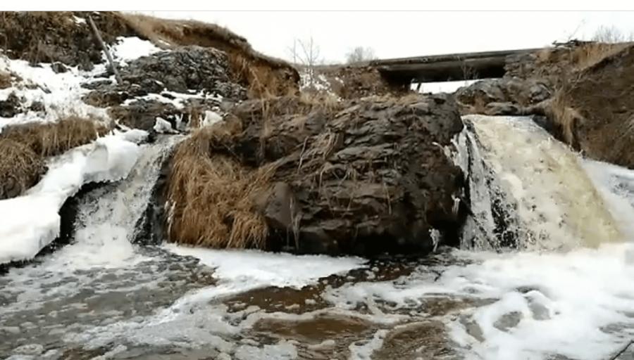 Шариповский водопад, деревня Шарипово, Башкортостан