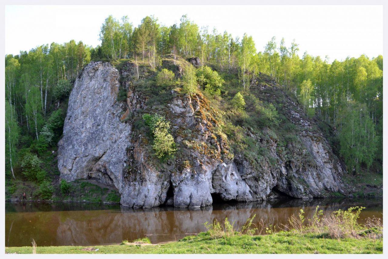 Скала Мамонт, Каменск-Уральский, Свердловская область
