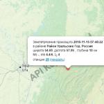 15 ноября на границе Башкирии и Челябинской области снова зафиксировано землетрясение