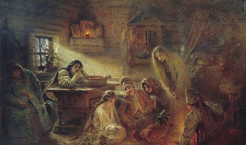 Святки, святочные гадания, уральские традиции, Сорок поклонов, уральские поверья, гадание по уральски