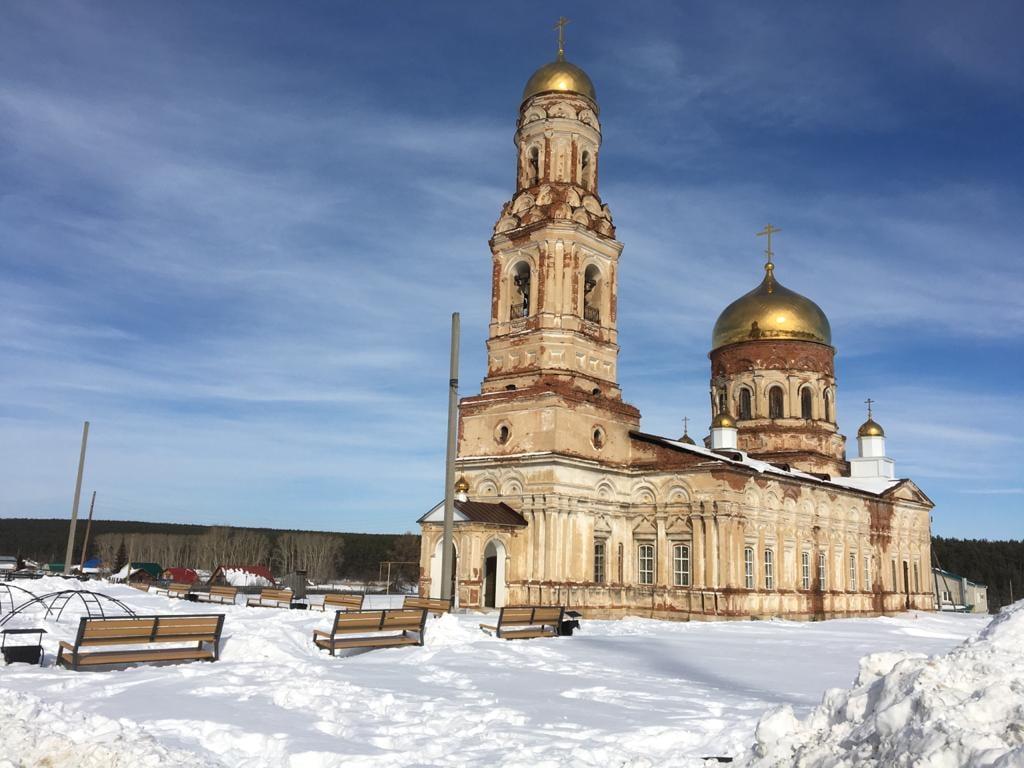 Церковь Архангела Михаила. Маминское. Или Мамино