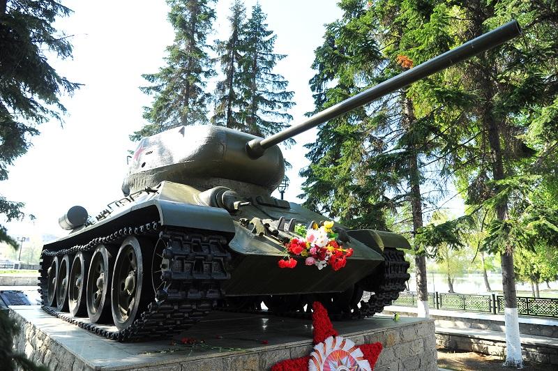 Кыштым. танк т-34
