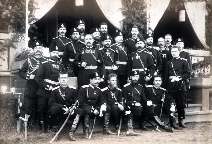 Офицеры Корпуса военных топографов