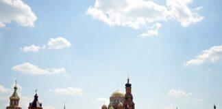Саракташ, Оренбургская область, малые города, Свято-троицкая обитель милосердия, православная история Урала,