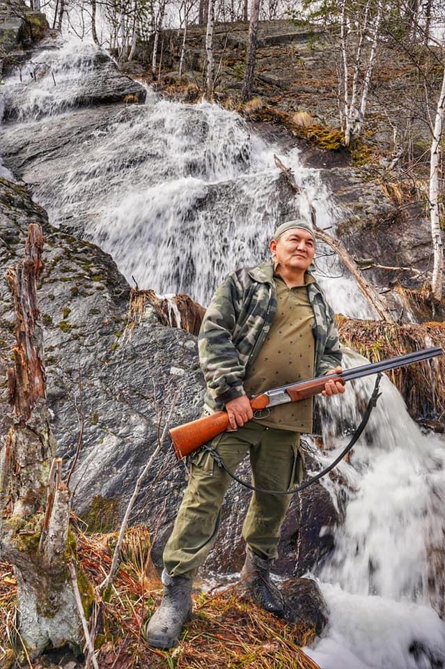 Верхний каскад водопада Кухтур-Оскан