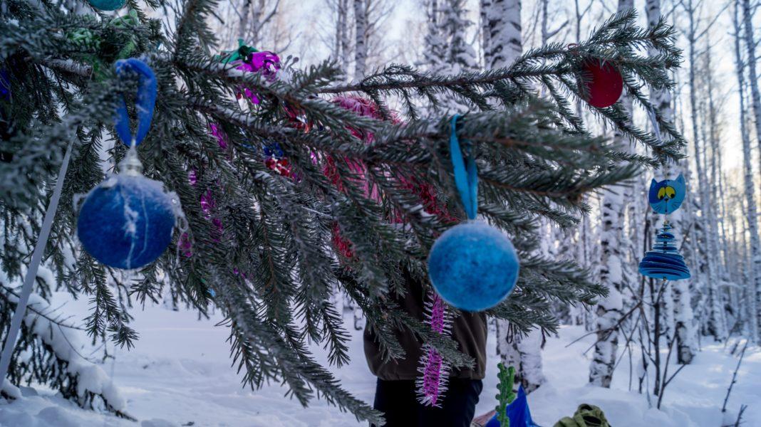 Новый год на Южном Урале