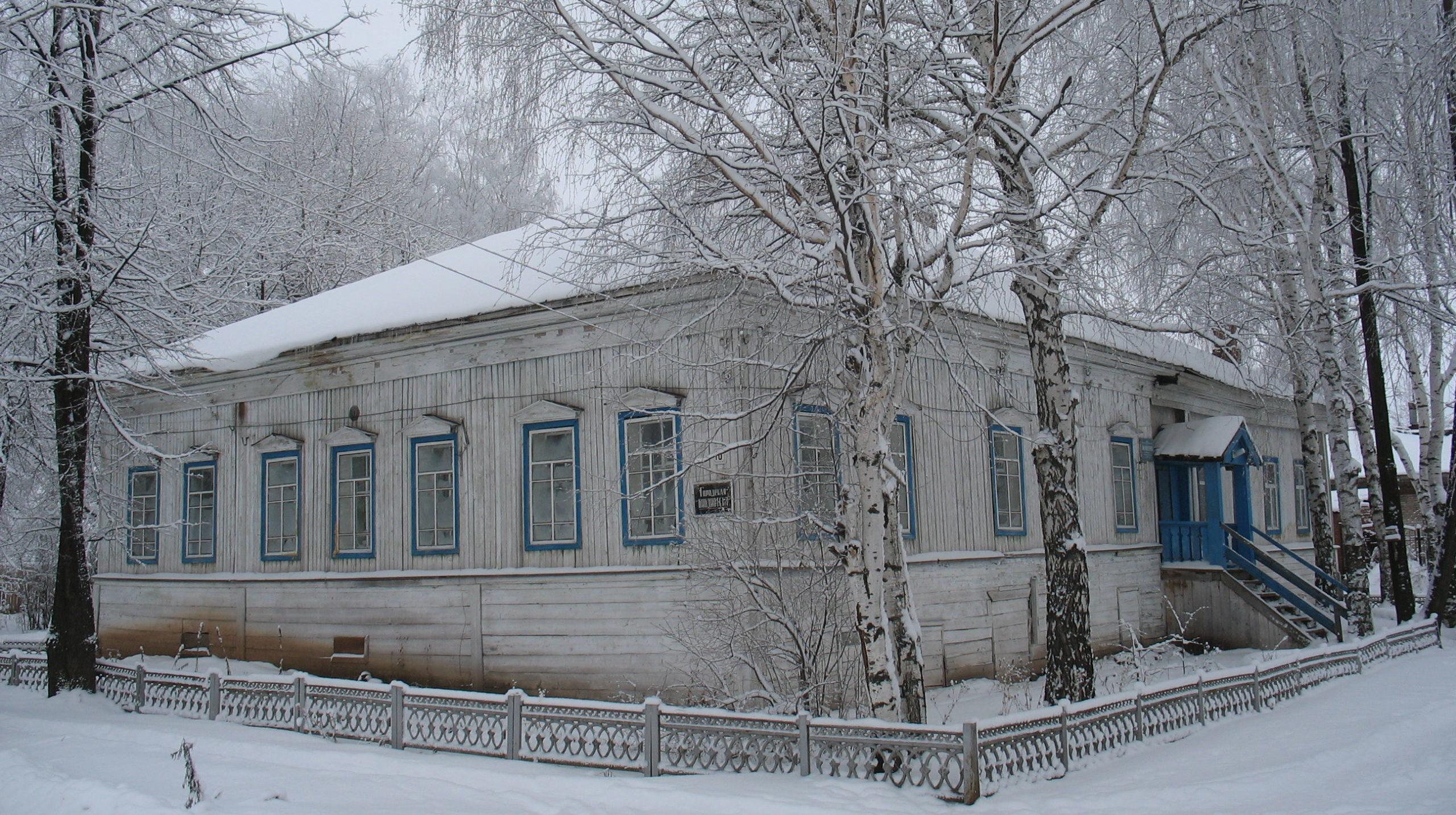 Чёрмоз дореволюционный ч. 4. История появления в городе театра и библиотеки