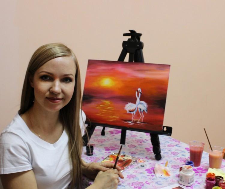 Ольга Торлопова — на все руки мастер