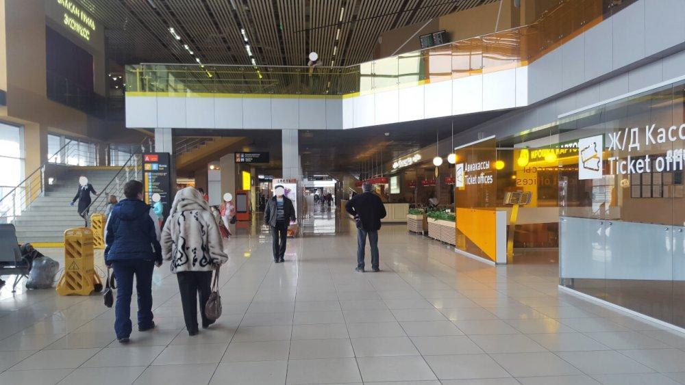 Аэропорт «Кольцово» в Екатеринбурге