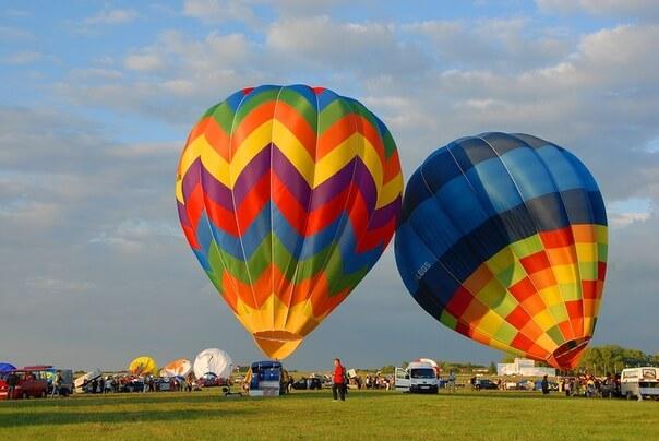 Фестиваль воздухоплавания в Курганской области
