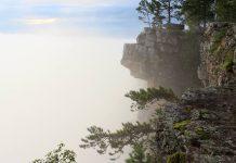 Айгир: скалы хребта Караташ