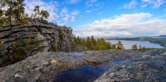 Озеро Аракуль, Аракульский шихан, Челябинская область, Южный Урал, Осень на Урале