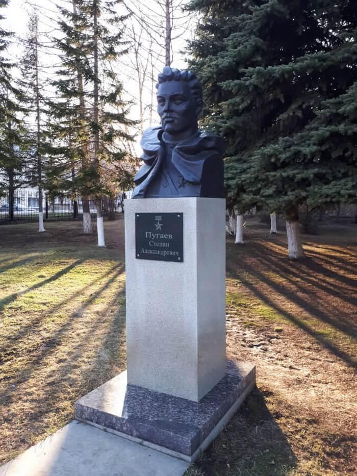 Аллея Героев в Белорецке