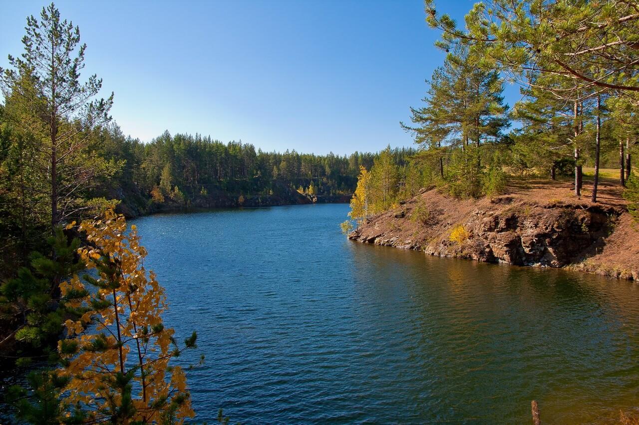 Голубые озера, Затопленные Анатольско-Шиловские карьеры, Свердловская область