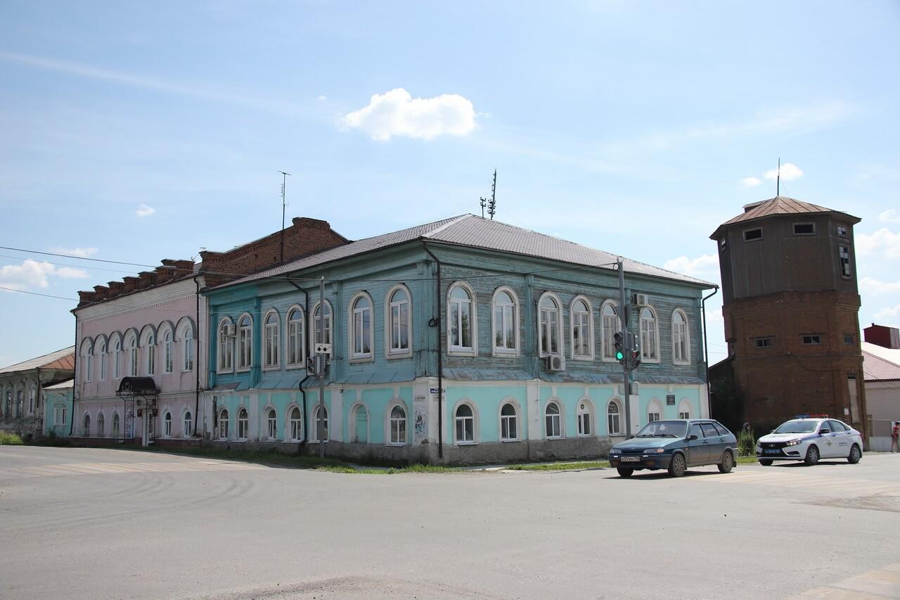 Здание городской управы, Камышлов