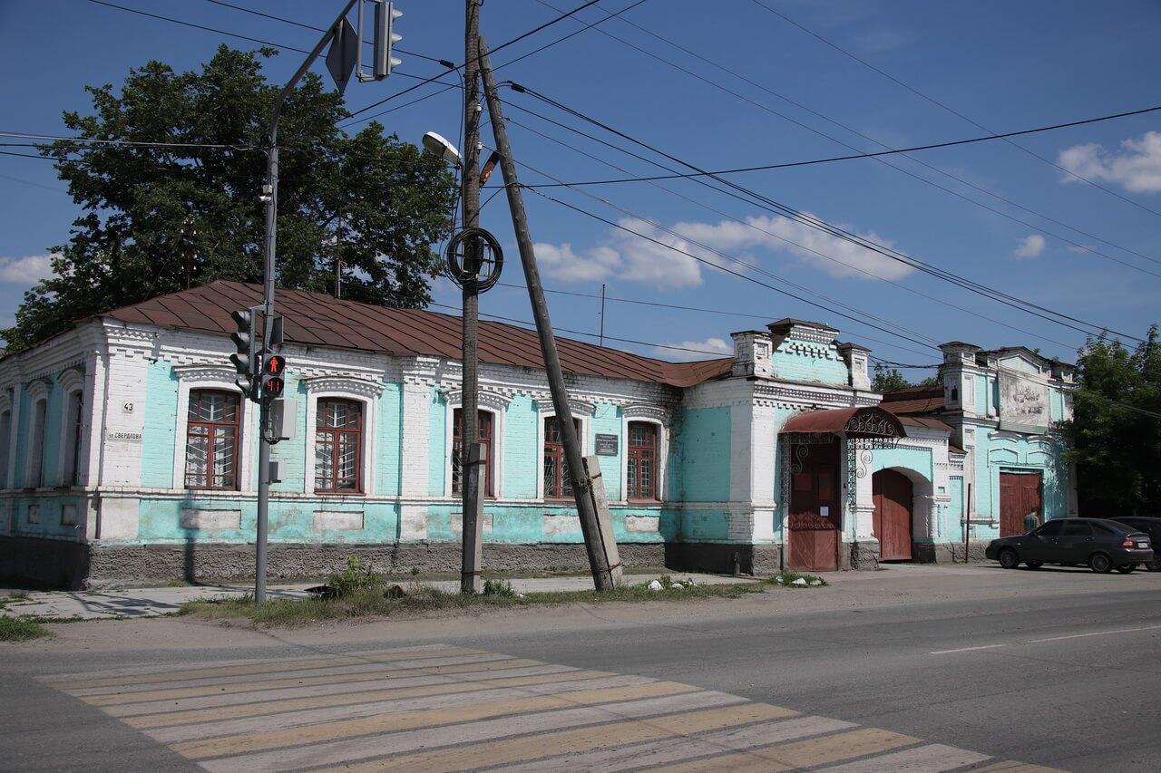 Старое здание земской управы, Камышлов