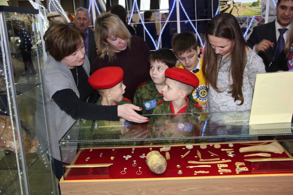Артефакты музея-заповедника «Древняя Уфа»