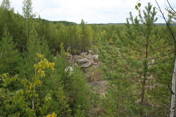 Озеро Асбест-Камень