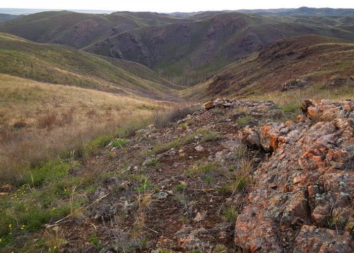 Аулганское ущелье, село Ишкино, Оренбургская область