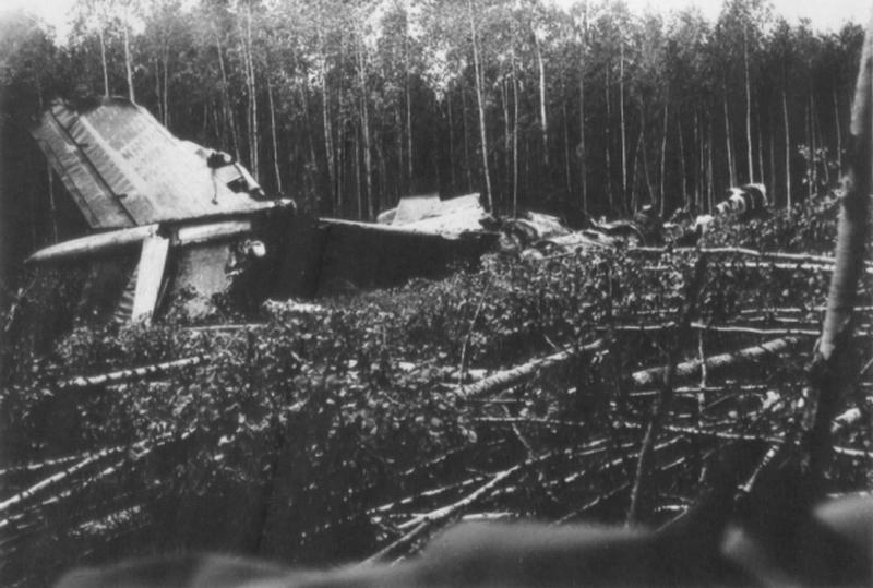 Катастрофа Ту-134 под Сыктывкаром