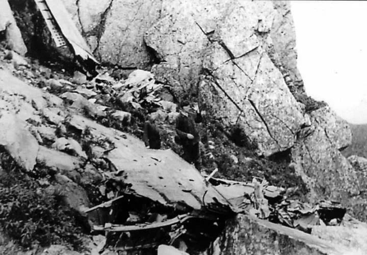 Авиакатастрофа Ли-2 на Таганае