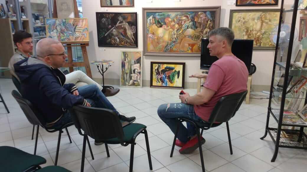 Евгений Ройзман, музей Невьянской иконы, Екатеринбург