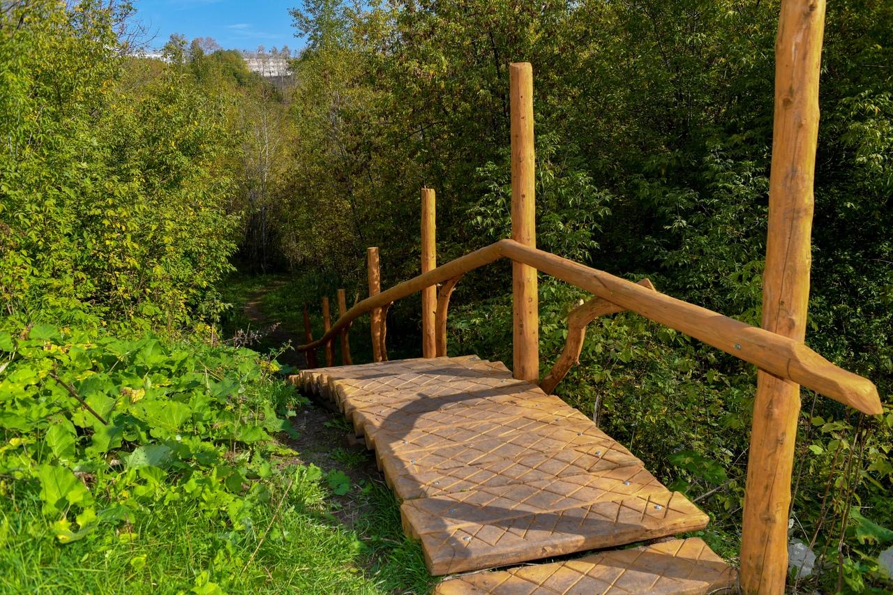 В долине Егошихи обустроена новая экологическая тропа