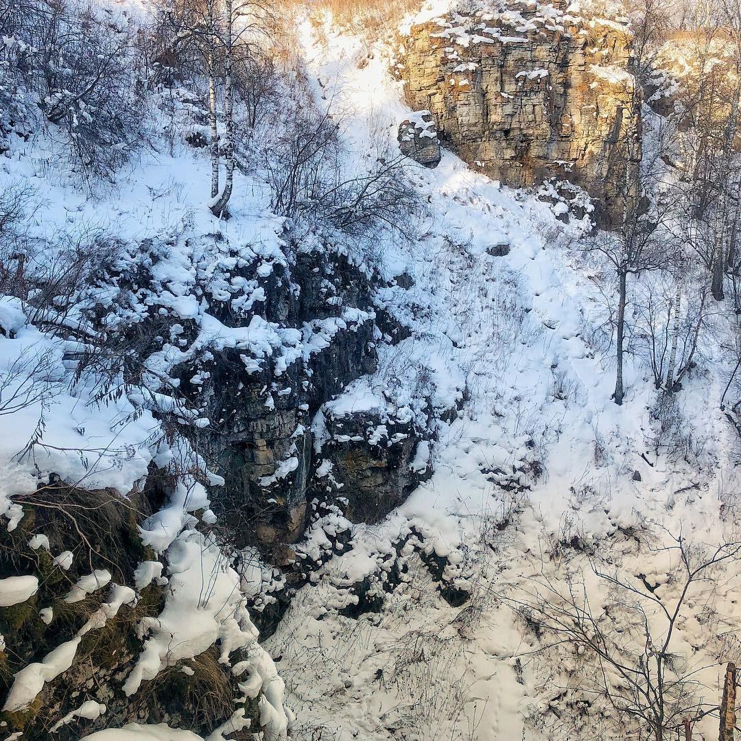 Алексеевский лог или Сухие водопады, Башкортостан, Башкирия, Южный Урал